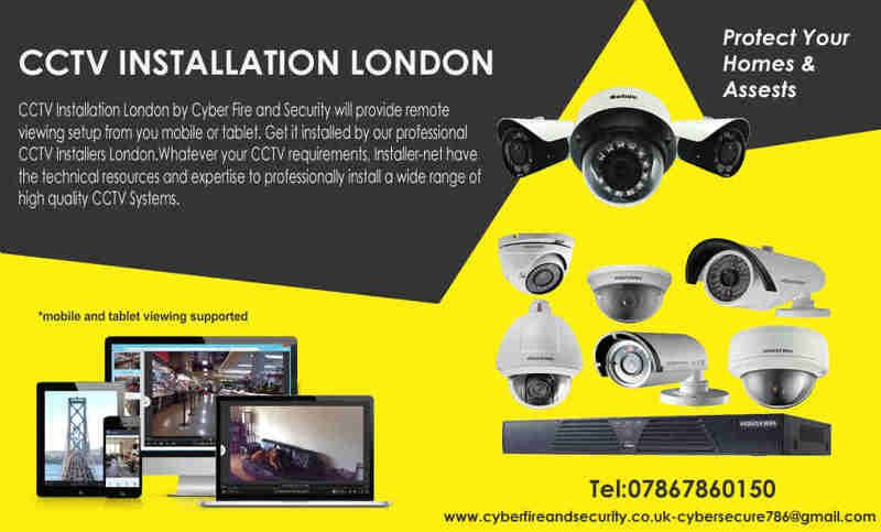 Your Cctv Systems From Anywhere You Re In The World Via Free Application Installed On Mobile Or Tablet Or Also F Home Security Systems Cctv Camera Installation