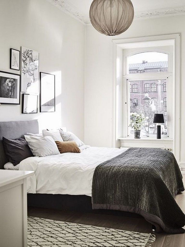 24 cozy modern simple guest bedroom decorating ideas on modern cozy bedroom decorating ideas id=68432