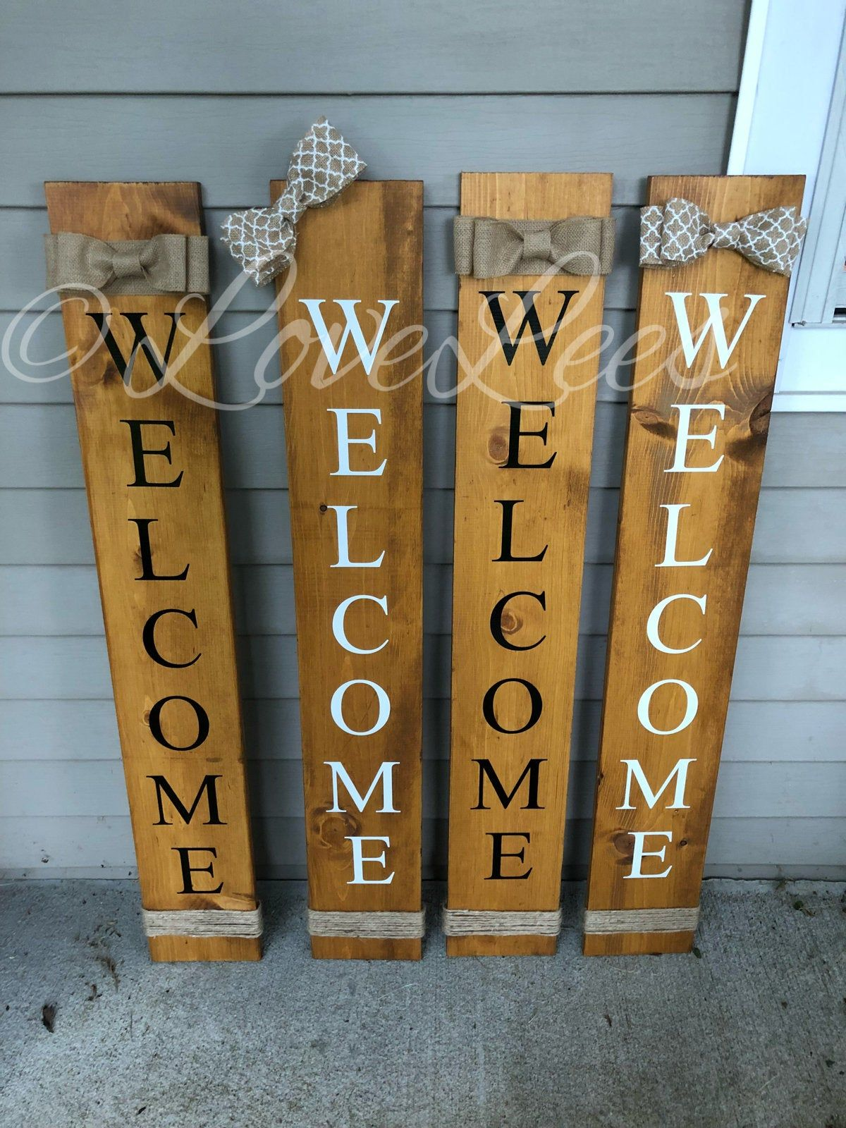 Diy Welcome Sign Wood Front Porches With Cricut