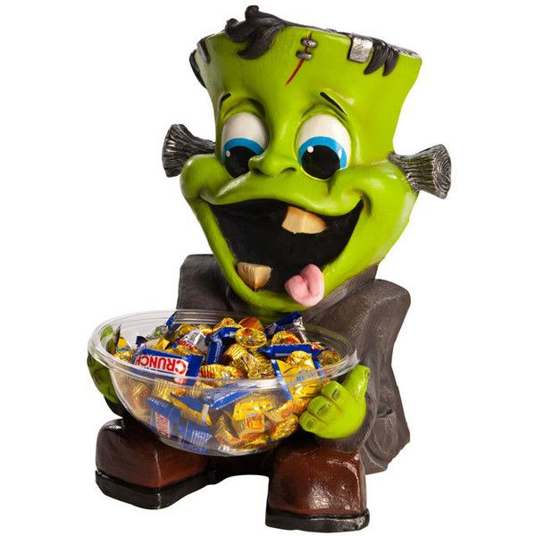 Happy Monster Halloween Candy Treat Holder ($29) ❤ liked on - halloween candy treat ideas