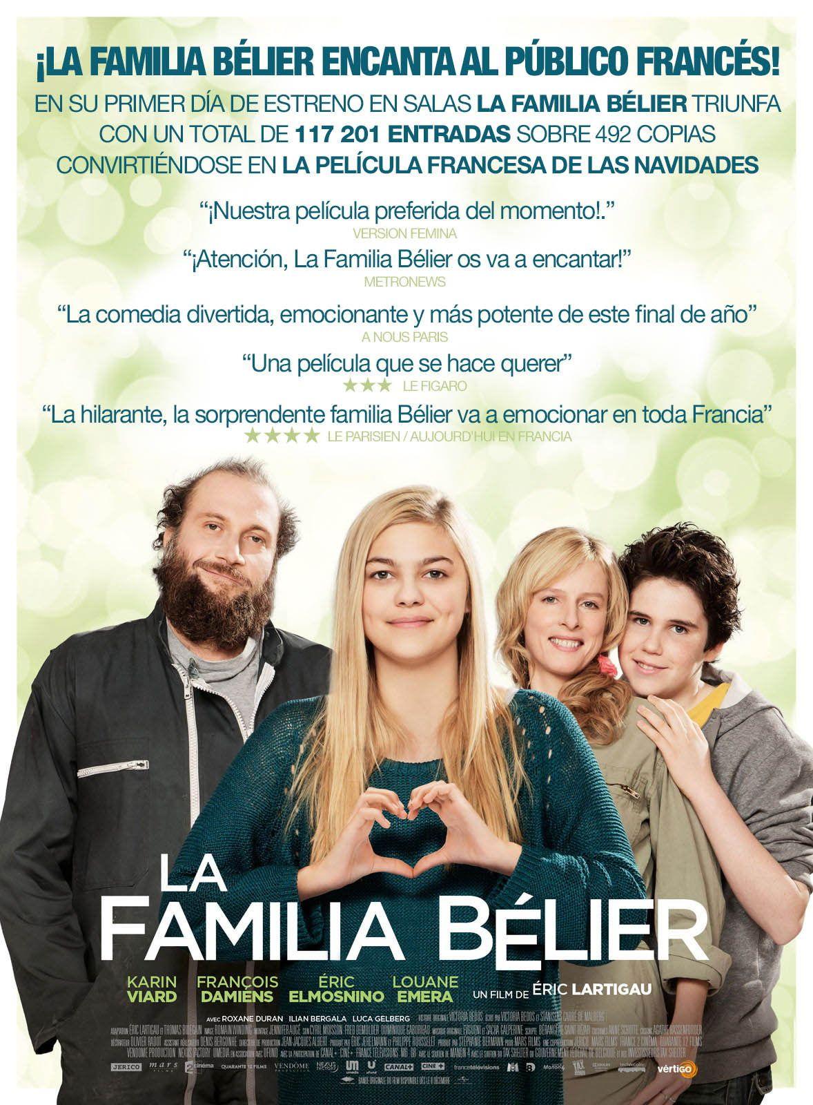 La Familia Belier Peliculas Carteleras De Cine Cine