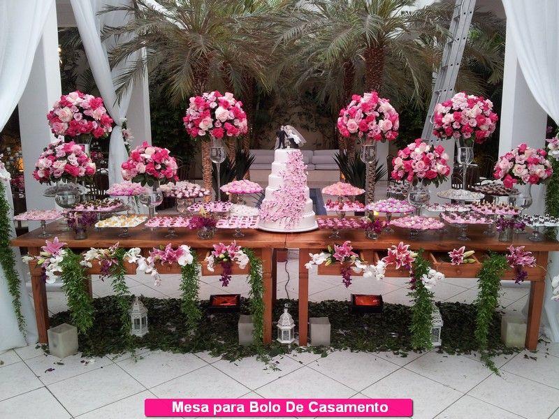Decoraç u00e3o de Bolo De Casamento Mesa Rústica Nova Decoraç u00e3o de Bolo de Casamento Pinterest  -> Decoração De Mesa De Bolo Casamento Simples