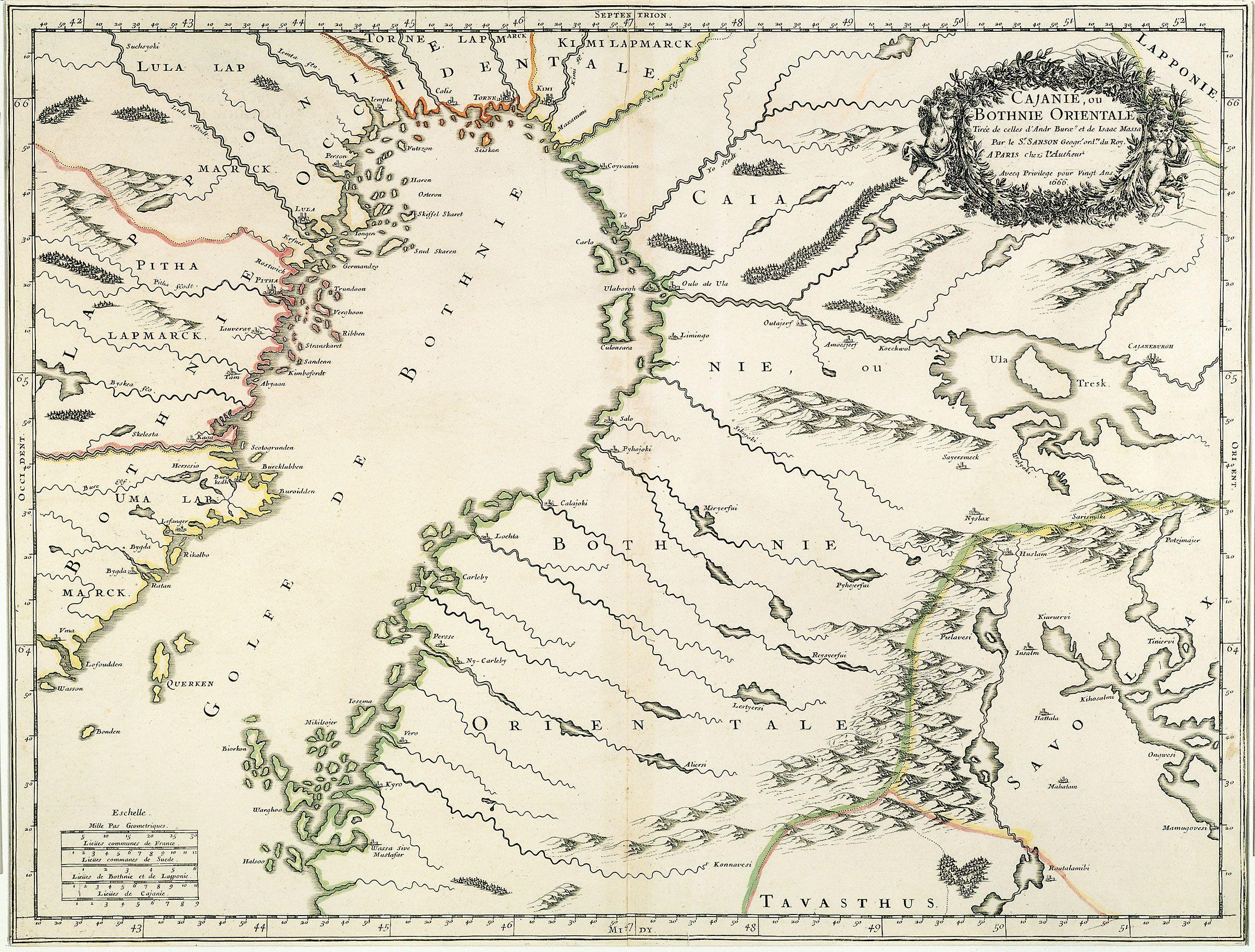 Kajaani ja Pohjanmaa (1666)