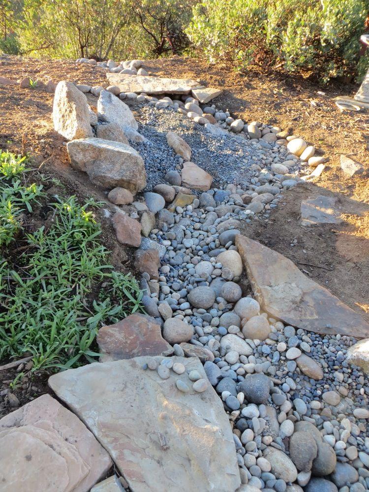 natural- dry creek bed