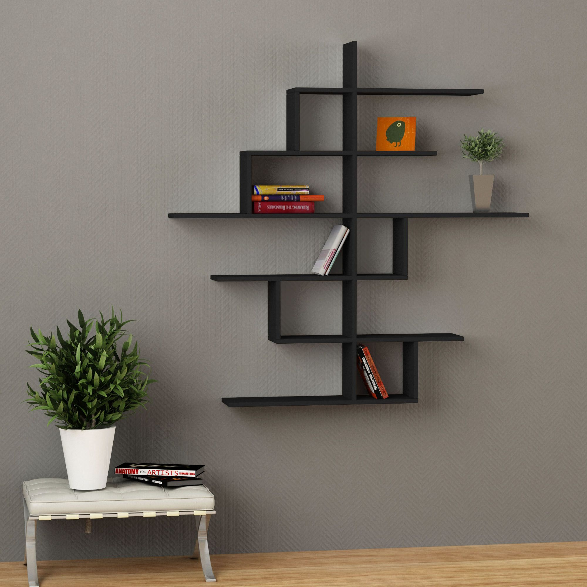Wall shelve nice ideas shelves wall shelves y bookshelves - Mensole a muro ikea ...