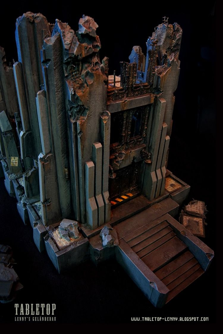 Warhammer 40k Terrain: Industrial Cathedral