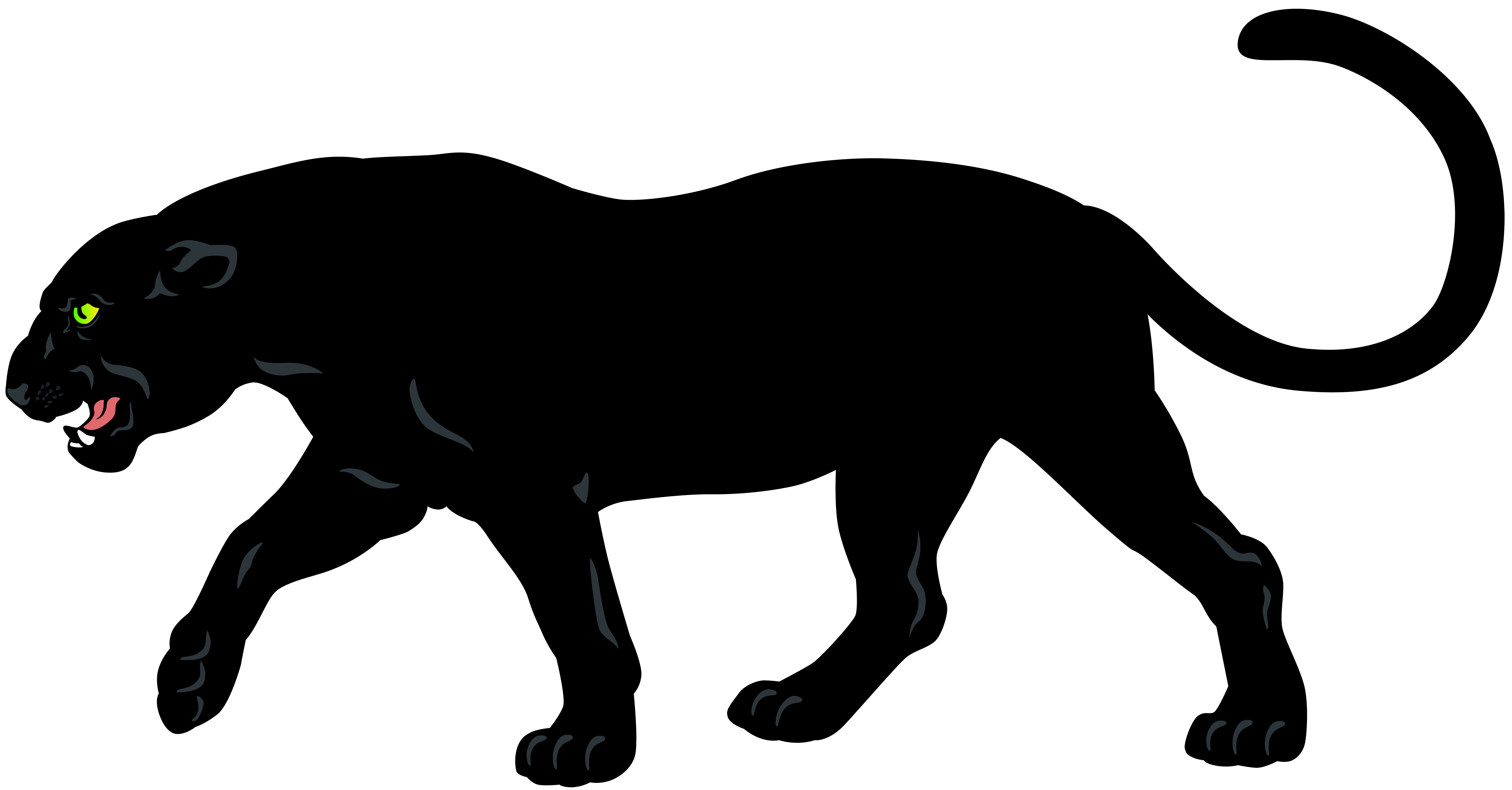 Black Panther Png Clip Art Image Gallery Yopriceville High Quality Images And Transparent Png Free Clipart Panther Images Panther Art Images