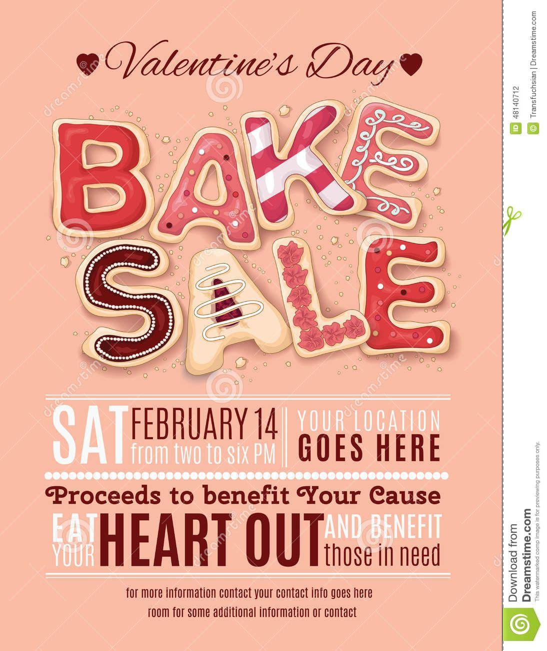 Bake Sale Flyer Templates