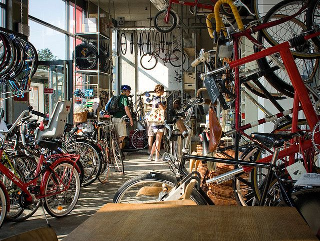 Lock 7 Cycle Cafe London By Mikael Colville Andersen Via Flickr
