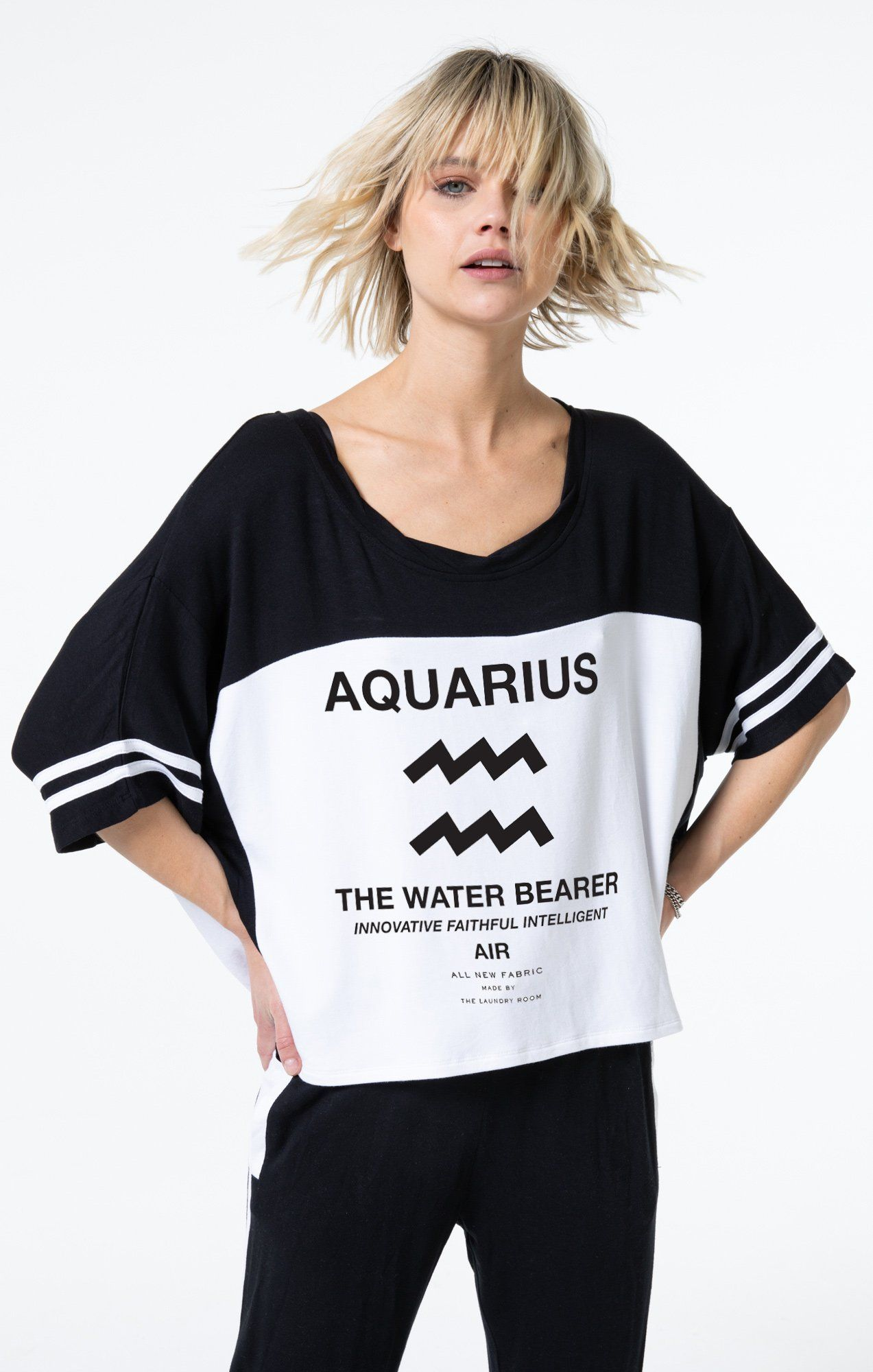 Team Aquarius Baggy Team Tee In 2019 Tees Fashion T