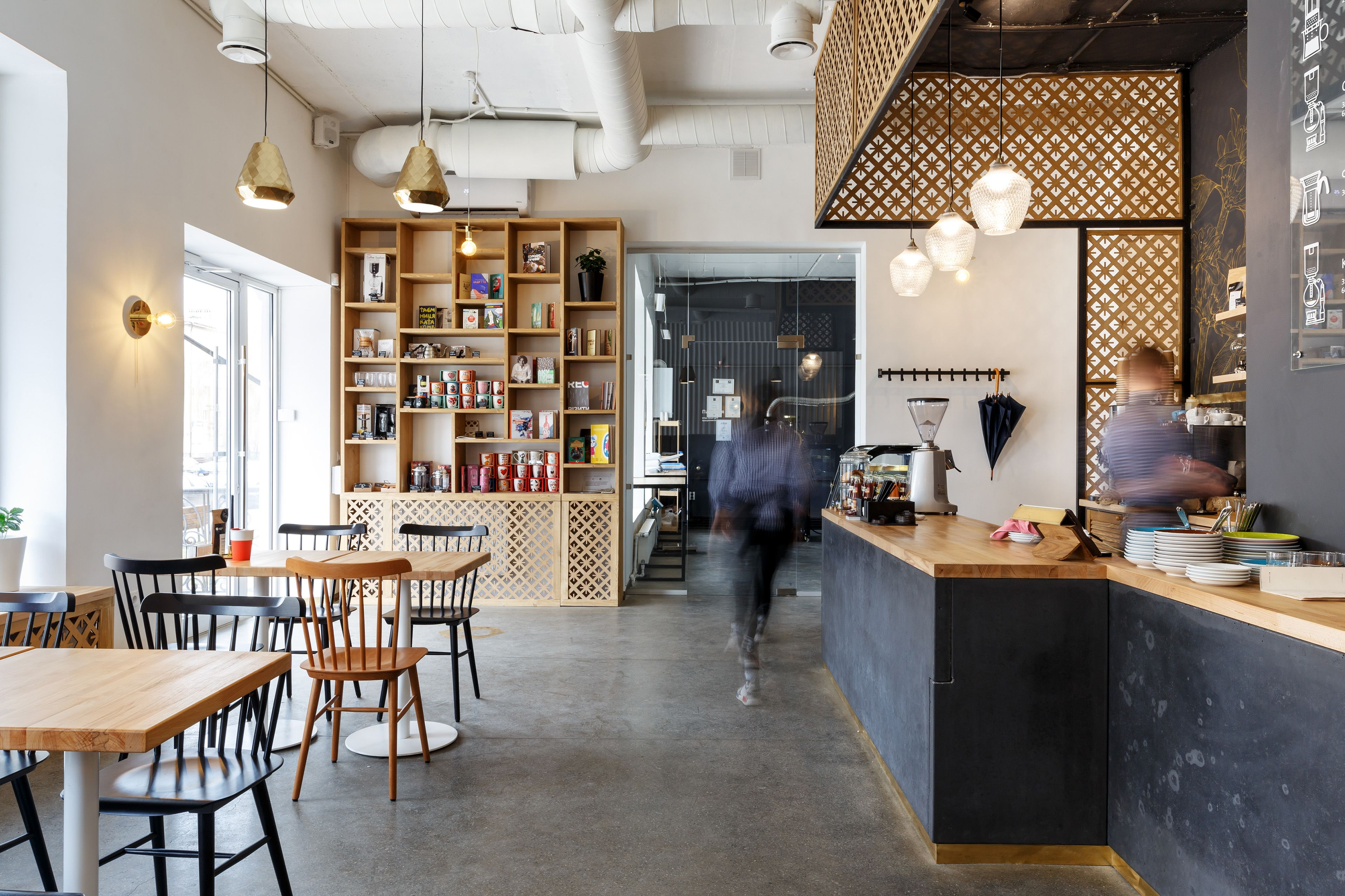 Fabryka Kavy coffee shop on Behance