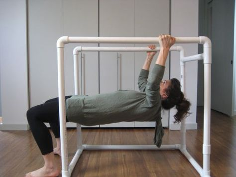how to make pvc pipe dip bars for home workouts  diy
