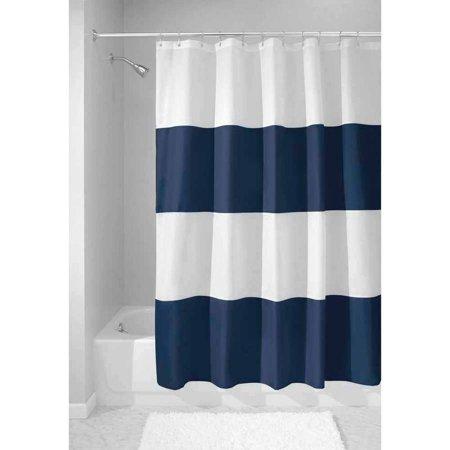 interdesign zeno fabric shower curtain