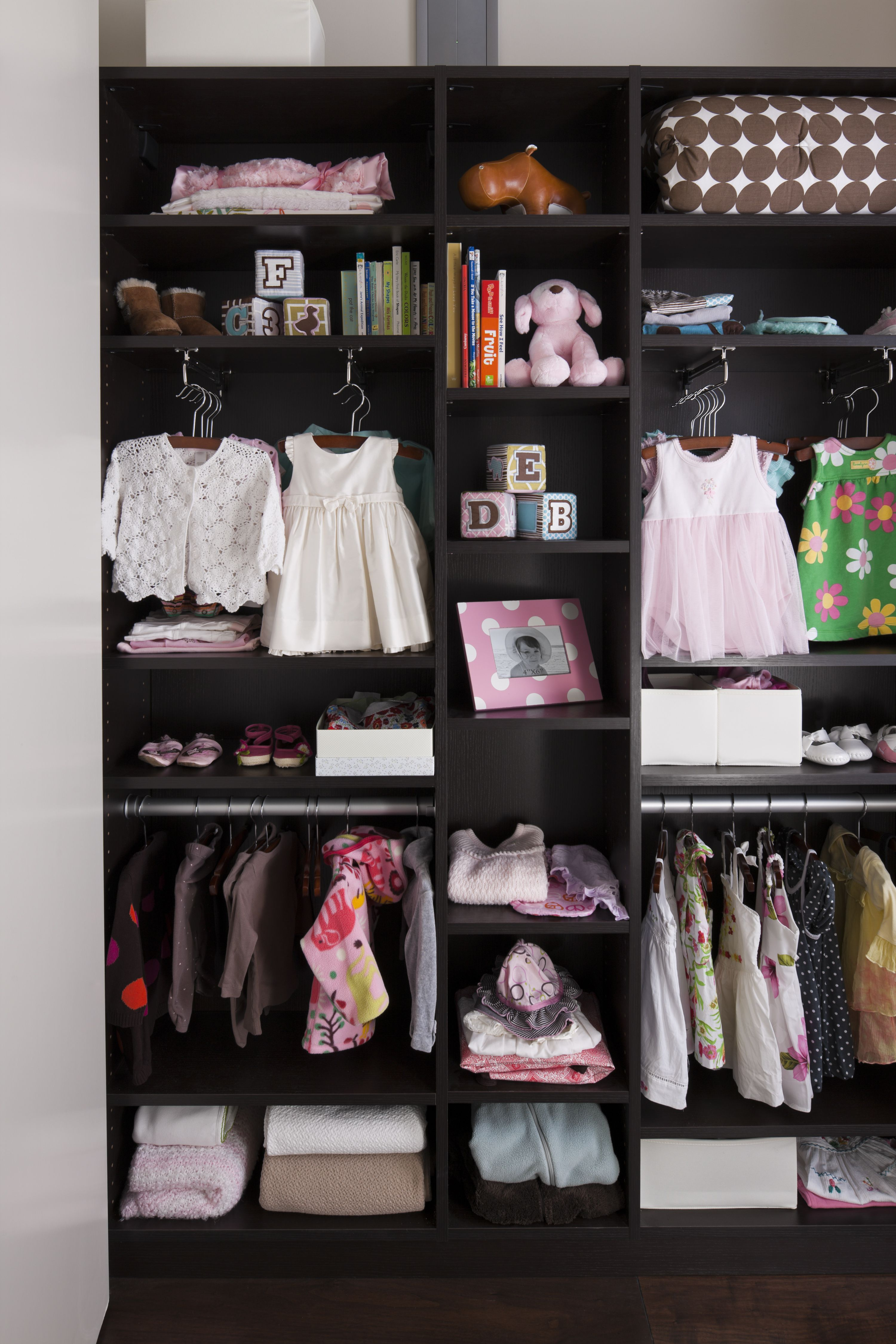 Reach In Closet By California Closets Bebe Pinterest  # Habia Vez Muebles Infantiles Medellin