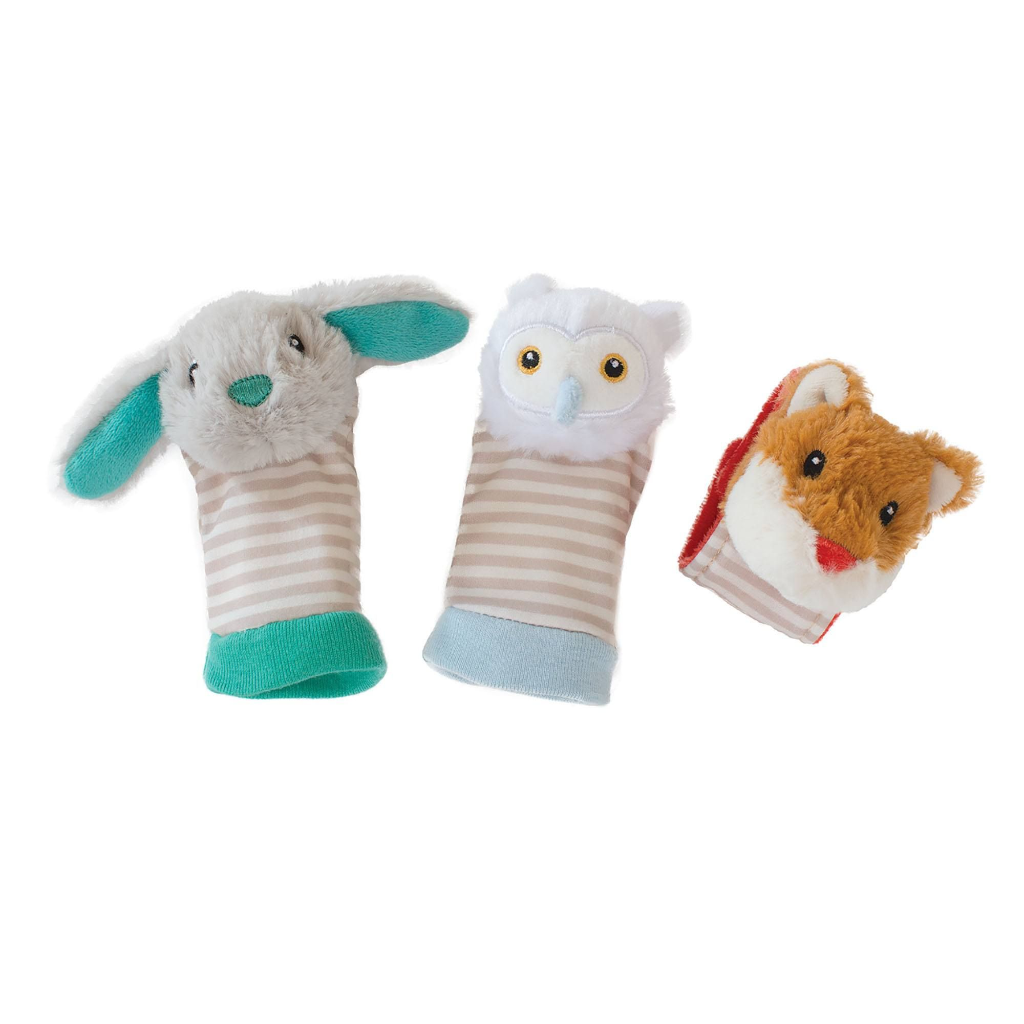 Rattles Woodland Babies Foot Finders And Rattle By Manhattan Toy Company Manhattan Toy Baby Feet Woodland Baby Manhattan Toy Company