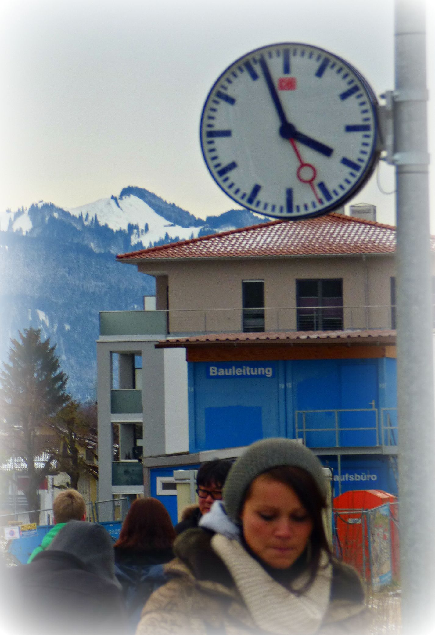 Just in Time - Jon Lander - © 2016 - Schwangau. Bavaria - we'd just ridden a bus down the mountain and ran as fast as we could for another bus in order to make this 4:00 train