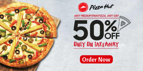 Order Pizza Online Get 50 Discount Pizza Pizzahut Food Fastfood Deal Discount Coupons Offers Savingmoney