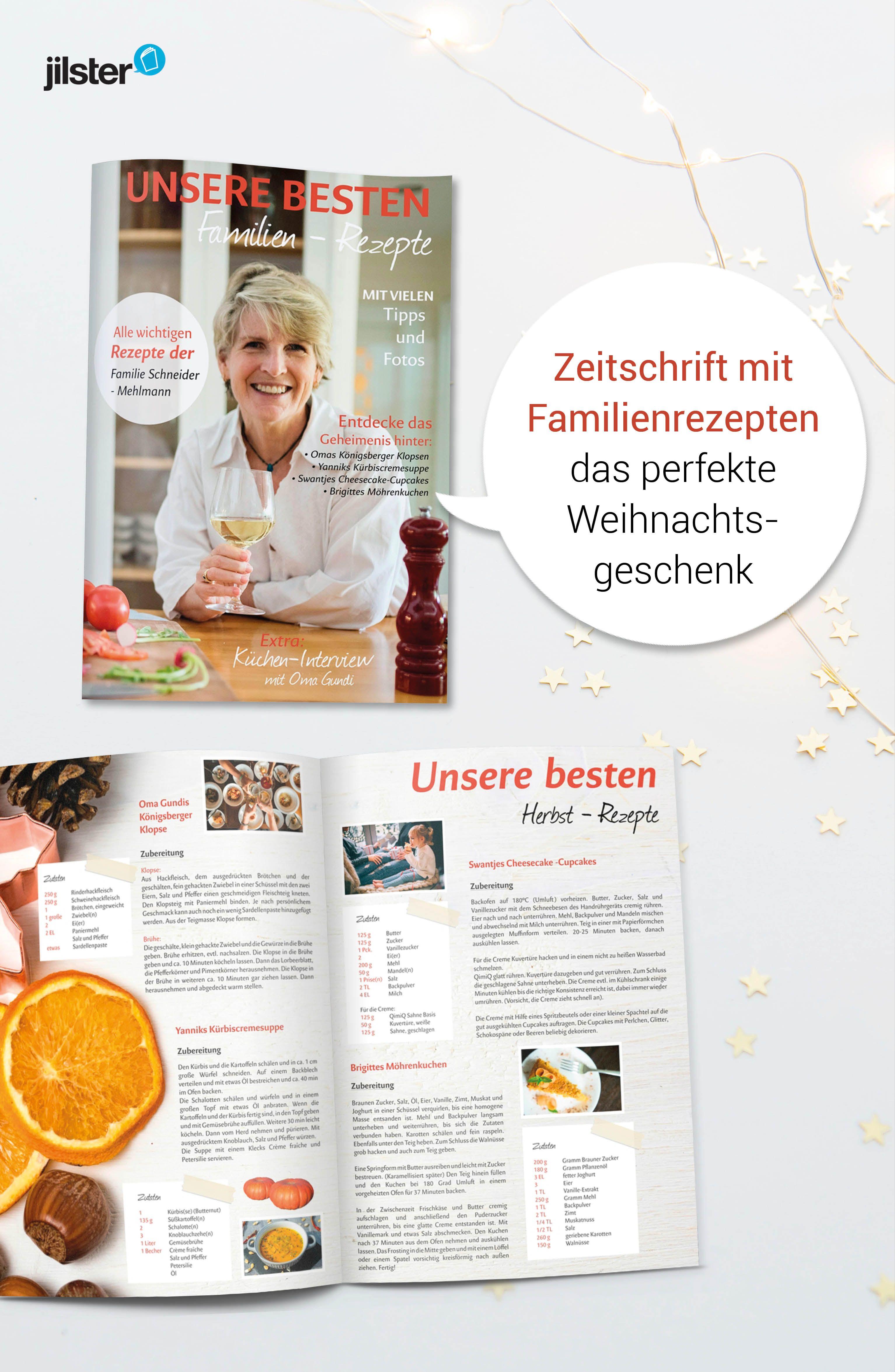 Weihnachtsgeschenk | Zeitschrift gestalten | Vorlagen, Tipps & Ideen ...