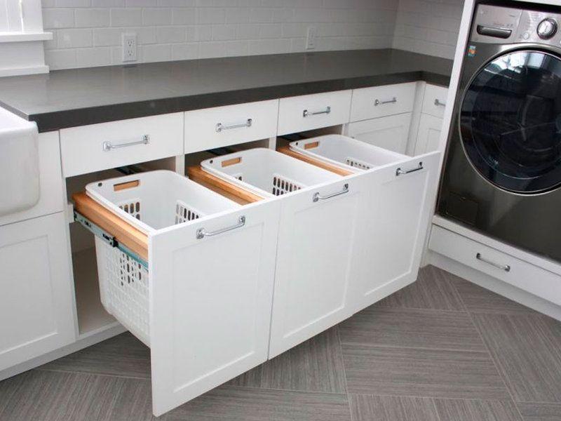 13 formas luxury para almacenar alacena platos y lavaderos - Armarios para lavaderos ...