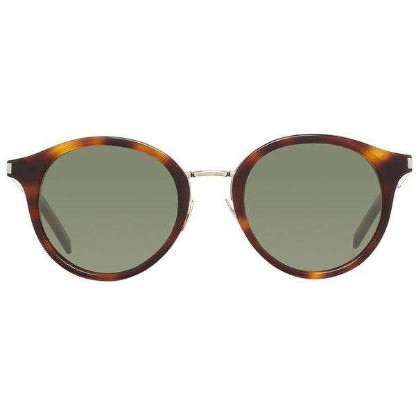 round frame sunglasses - Metallic Saint Laurent Eyewear fuXcG