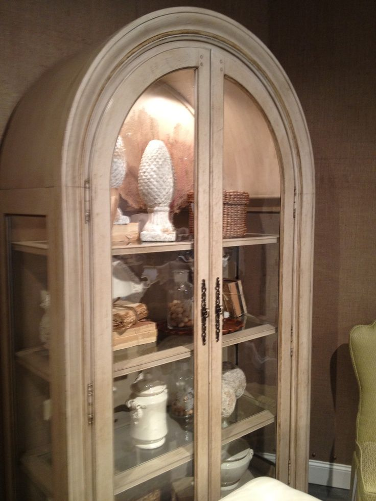 glass cabinets with arch - Yahoo Image Search Results | Living ...