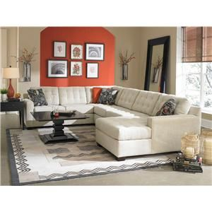 broyhill furniture tribeca contemporary sectional sofa with right rh pinterest com