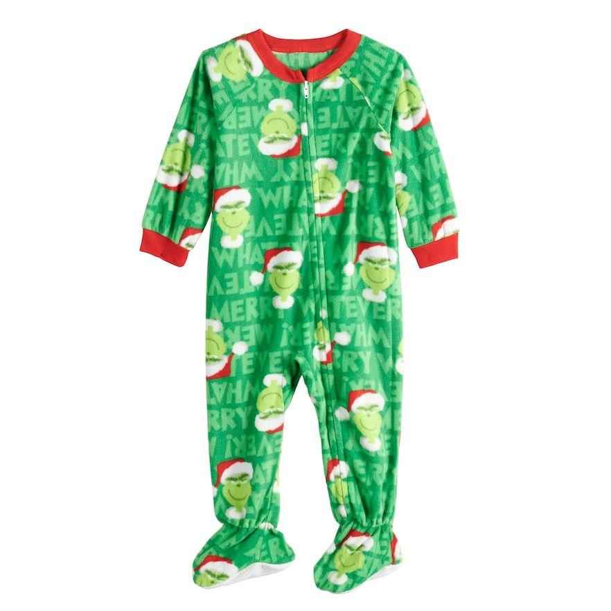 fc28754d91d5 Black   Red  Don t Be A Grinch  Pajama Set - Men