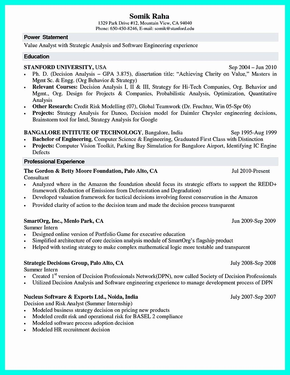 Computer Science Resume Internship New The Best Puter Science Resume Sample Collection Engineering Resume Student Resume Internship Resume