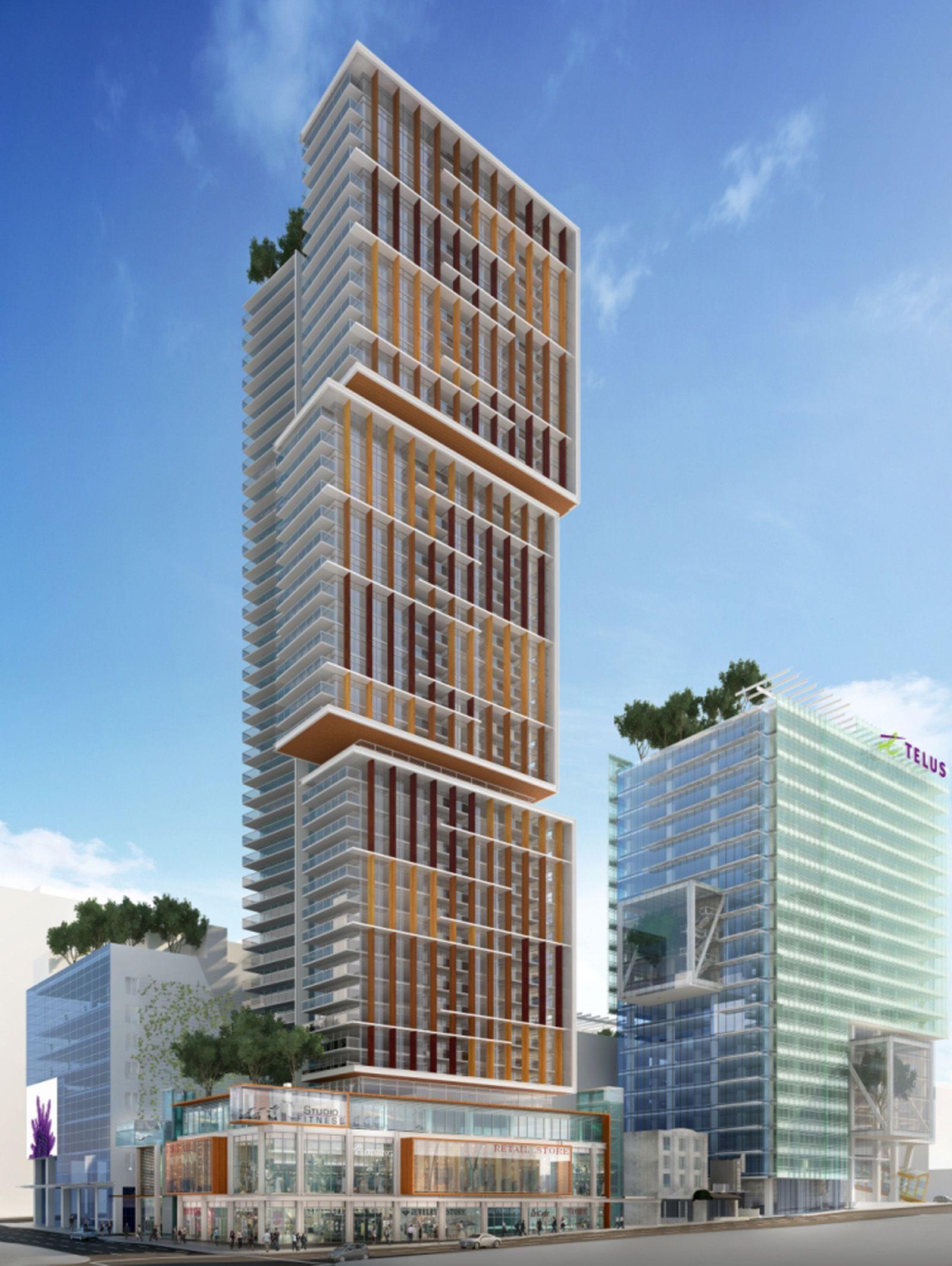 Telus Garden Designagency Green Building Architecture Building Green Building
