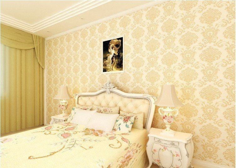 Decorative Wall Paper Design Home Wallpaper Designs Pinterest