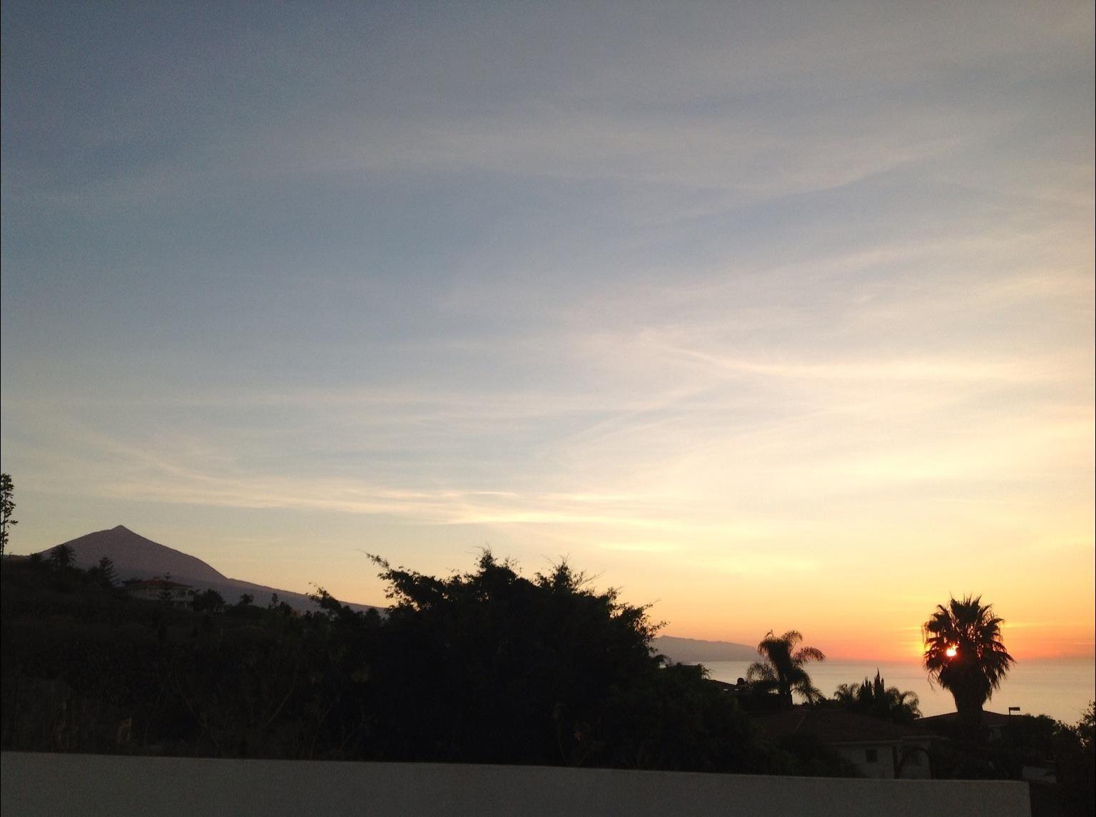 Atardecer en El Sauzal, Tenerife