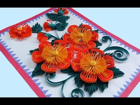 Quilling card diy paper quilling birthday greeting card step quilling card diy paper quilling birthday greeting card step by step paper quilling art bookmarktalkfo Images