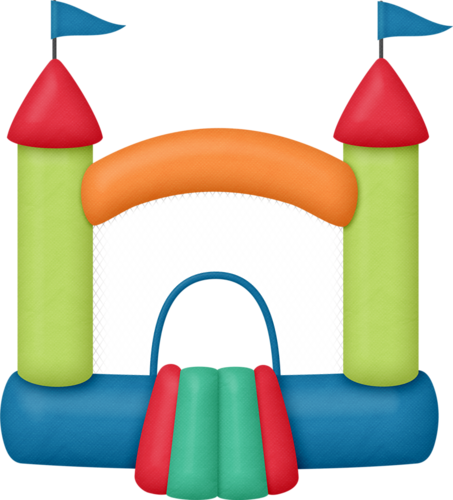bounce house clipart pinterest clip art scrapbook and rh pinterest com inflatable bounce house clipart inflatable bounce house clipart