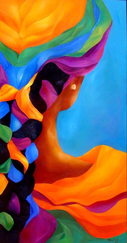 Serie Raices Arte Mary Cielo Pinturas Abstractas Cuadros De