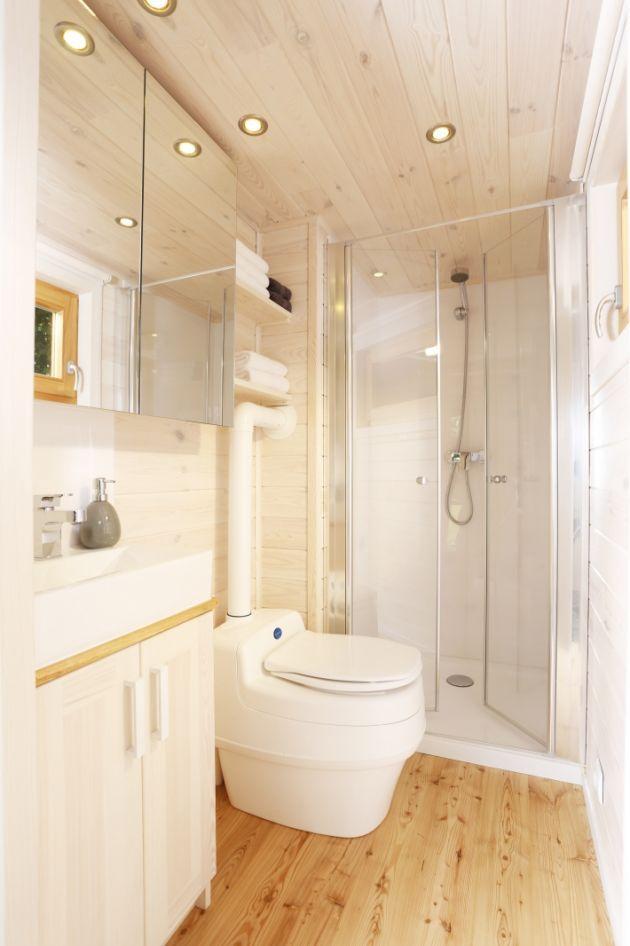 Das Badezimmer Corner Bathtub House Tiny House