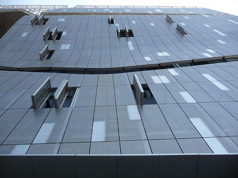 Exterior Metals Walls Cladding Perforated Metal Cladding Exterior Wall Cladding Metal