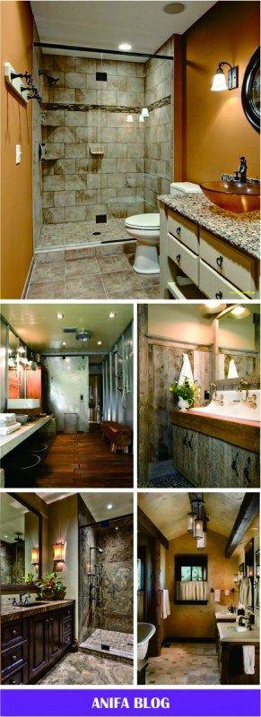 40 Amazing Rustic Bathroom Vanities Ideas  Designs - Home