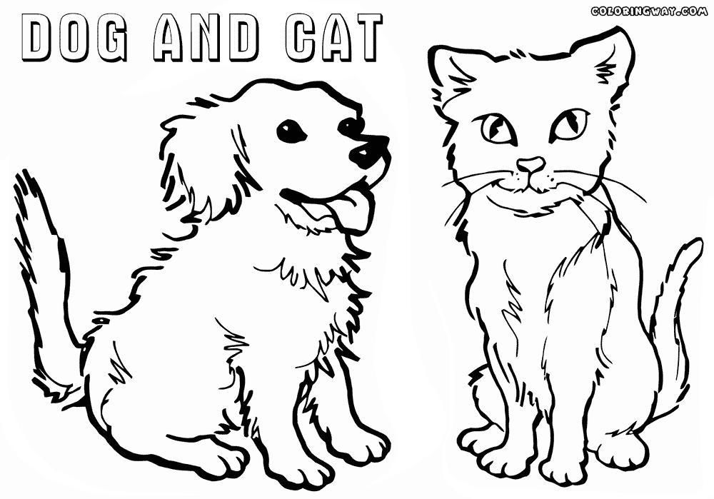 16 Printable Colouring Pages Of Cats And Dogs Printable Coloring Pages Colouring Pages Printable Coloring