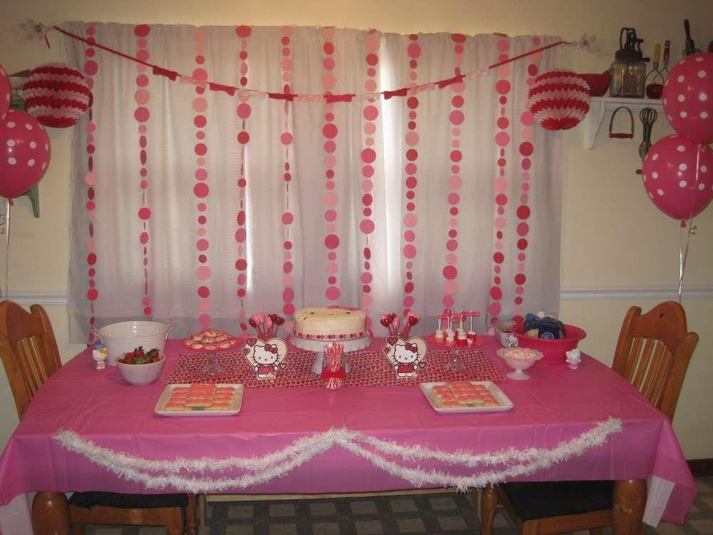 Hello Kitty Birthday Party Ideas | Photo 4 of 40 | Catch My Party