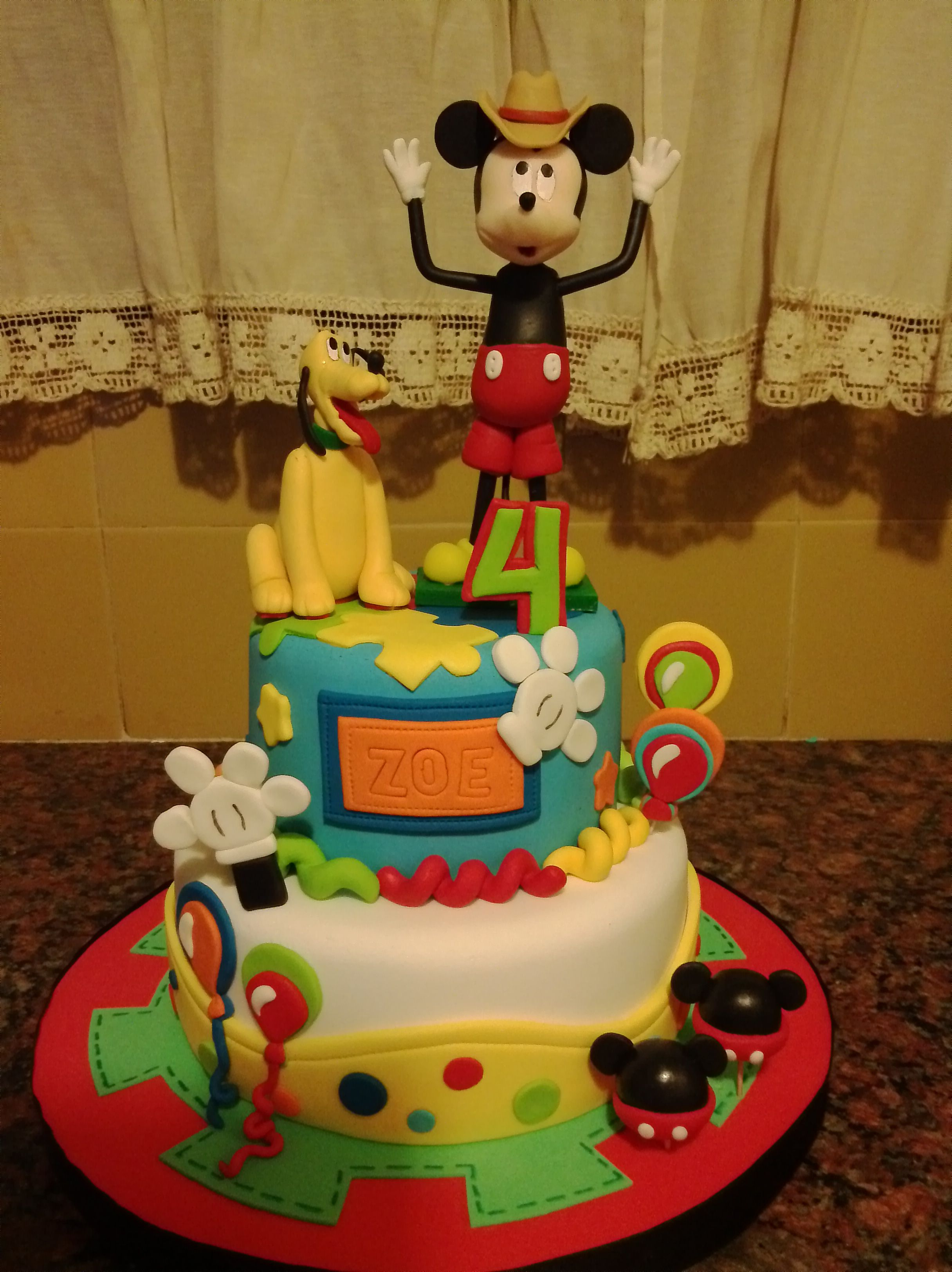 Torta mickey mouse2