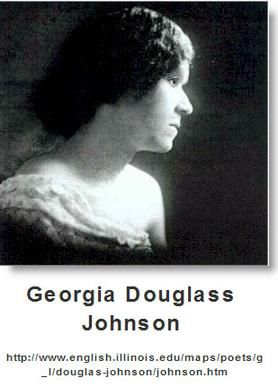 Georgia Douglas Johnson Was An American Poet And A Member Of The