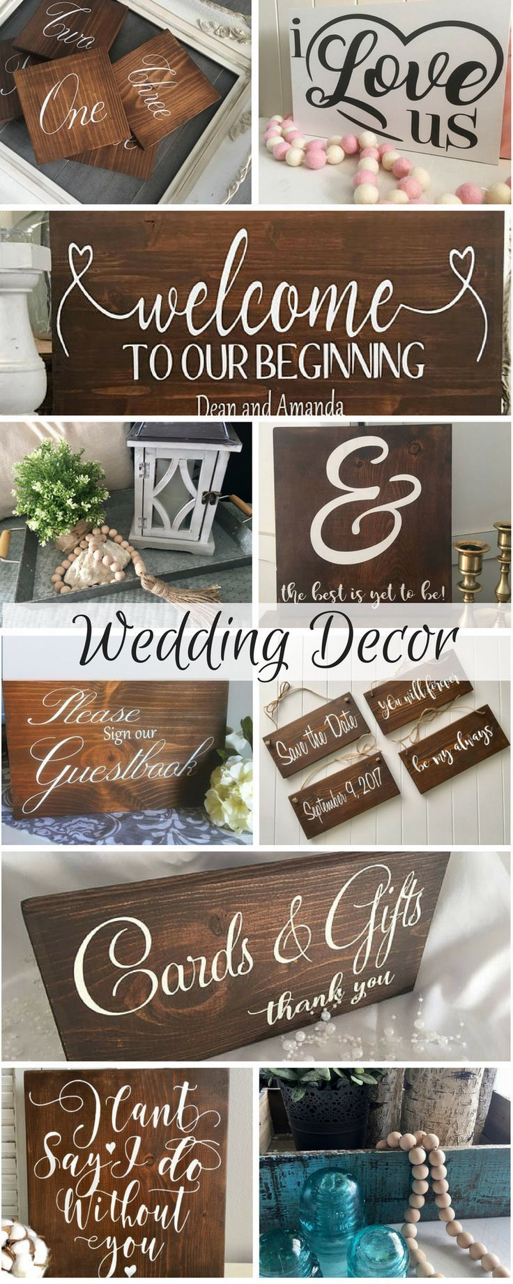 Rustic wedding signs diy wood signs diy wedding rustic