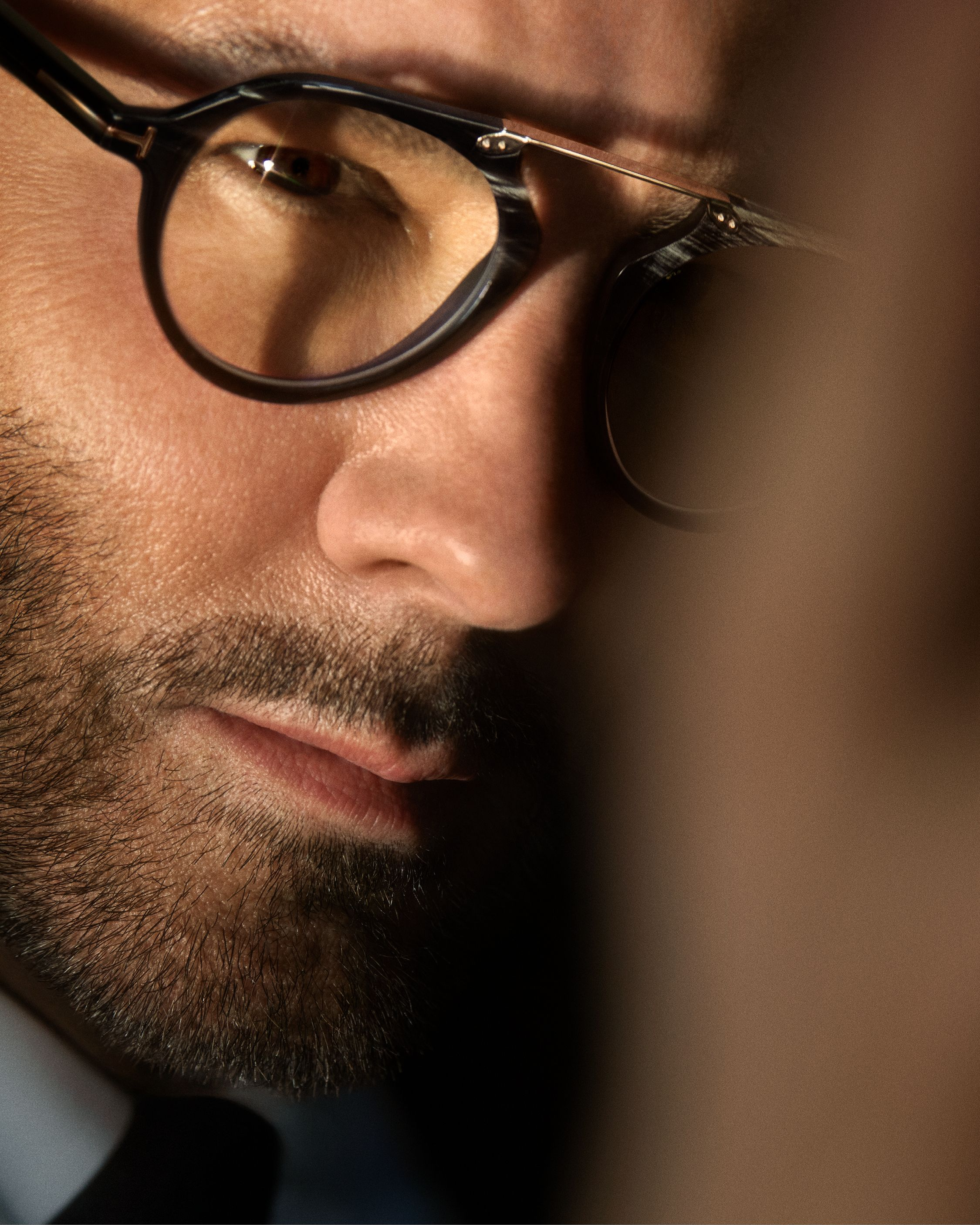 6166eebd0c Discover the latest collection of TOM FORD Men's Private Eyewear on TOMFORD.com.  Complimentary Shipping & Returns.