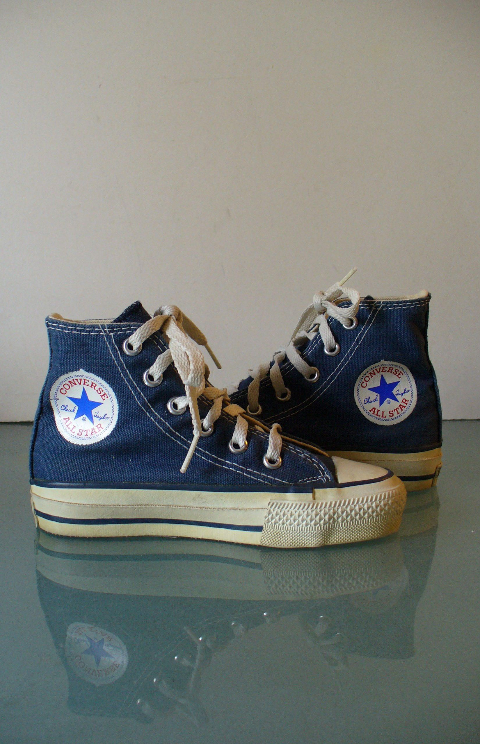 Vintage Never Worn Chuck Taylor High Top Converse All Star