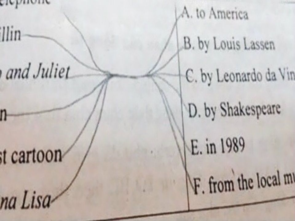 Latest Funny Test Answers 13 Witty Answers By Students That Earns Full Marks For Creativity 13 Witty Answers By Students That Earns Full Marks For Creativity - ScoopNow 5