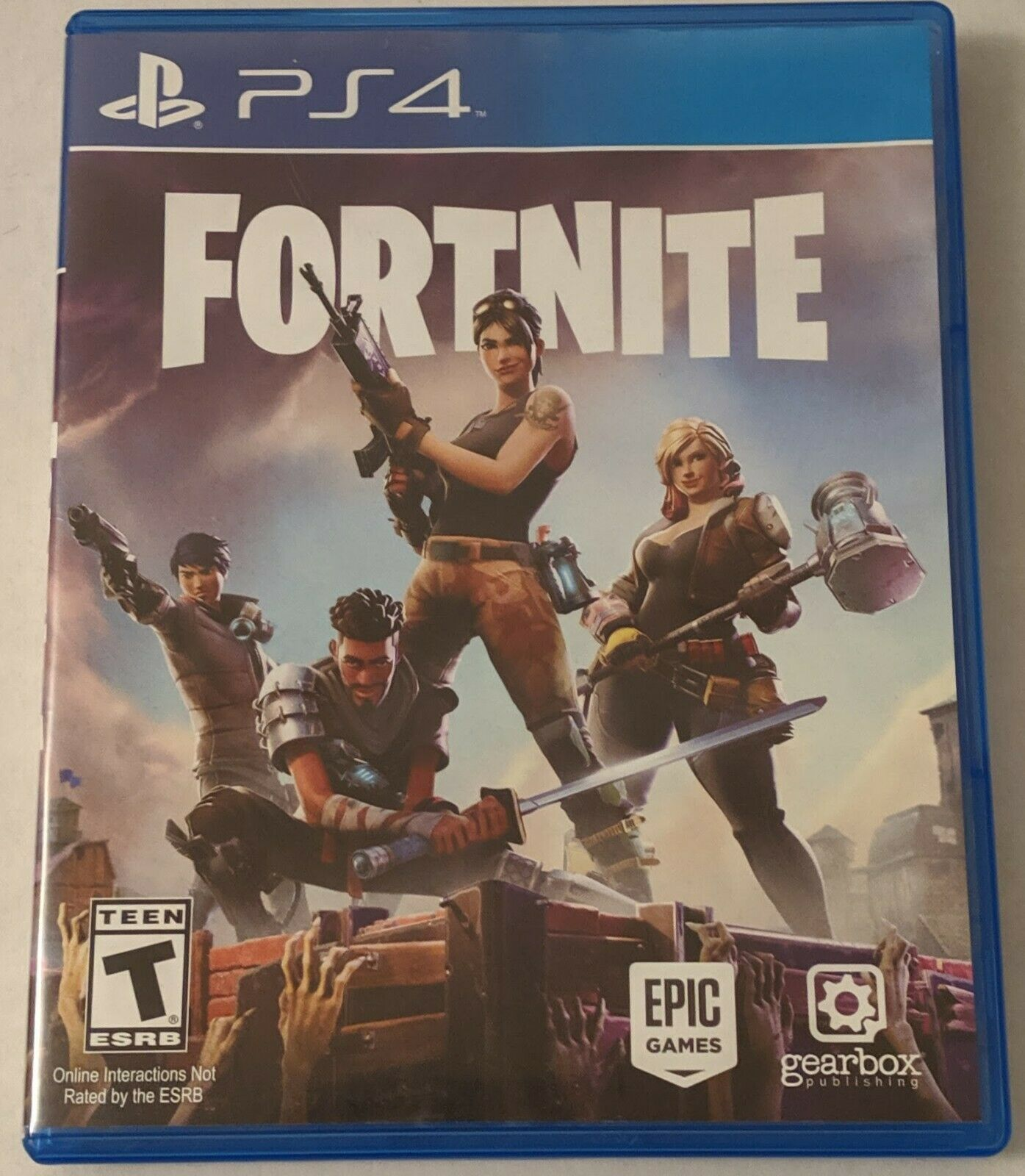 Fortnite Bodily Disc Uncommon Sony Playstation 4 Ps4 Free Delivery Fortnite Xbox One Epic Games