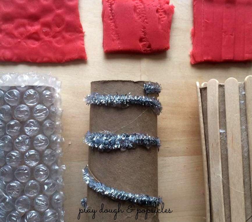 11 Outils Play Dough bricolage facile à explorer Texture - Skill Preschool motricité fine Activité - Activité à l'intérieur - Jouets bricolage