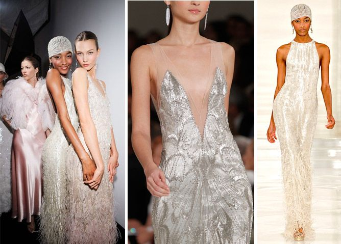 Espresso News2361 Fashion Trends Wedding Dress Pinterest Gatsby 20s Style And 1920s