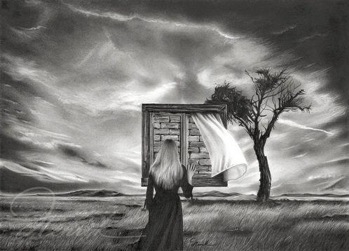 Графические работы художника Henrik Moses. Графика двадцатая