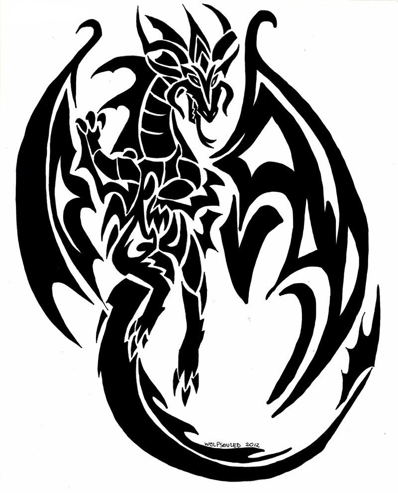 tatouage dragon page 56 tattoocompris drawing of. Black Bedroom Furniture Sets. Home Design Ideas